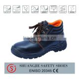 NO.8055 Dubai security equipment durable industrial wholesale steel toe safety shoes
