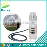 stainless steel 12v dc water submersible pump solar brushless pump for agricultural irrigation