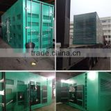 Heavy duty used 1000kw big power container generator OEM factory price