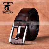 China suppliers Wholesale cheap high-end oxhide cow genuine leather cattlehide long man belts men belt
