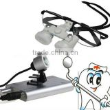 2012 NEW 3.5x 420 Dental Surgical Binocular Loupes +LED Head Light lamp