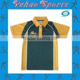 MOQ 10pcs bespoke men's sublimated cricket shirt