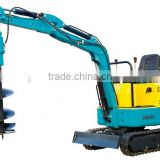 CE Certificate Mini Excavator LY08 Auger Attachment Mini Excavator with Super Quality for Sale