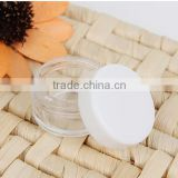 50pcs/lot Eyeshadow Makeup Face Cream Empty Container Portable Cosmetic White Empty Jar Pot New