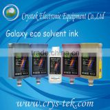 Galaxy eco solvent ink for epson dx4/ dx5 printhead