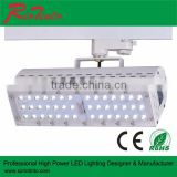 white/black track light housing led track light 30w 50w 40w 70w jewelry showcases led lights