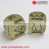 Dice can glow in the dark , custom plastic dice, Resin material game dice                                                                         Quality Choice                                                     Most Popular