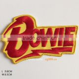 3d healthy baby clothes custom embroidered patches