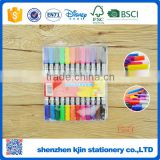 Wholesale good quality 12 water color pen with double markers for painting                                                                                                         Supplier's Choice