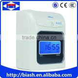 punching card time recording attendance machine time clock