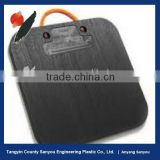 crush resistant skidproof pe outrigger pad manufacturer/hdpe plastic stabilizer pad/uhmwpe outrigger pad