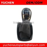 YUCHEN Car Shift Gear Knob With 5 Speed Black Caps For Skoda Fabia II MKII 2000-2008 OEM 6Y0711113H