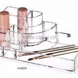Acrylic Makeup Organizer with drawers and can be combined freely, clear design helping you to pick up your color easily