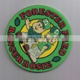 Custom Logo New Design Pvc Rubber Coaster for Drink/ Beer Drink Rubber coaster