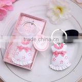 Baby Shower Favors More Colors Girl Pink Cloth Key Ring