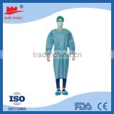 SMS Cover Gown Light Weight Blue Universal Size hospital gown