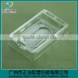 custom clamshell blister packaging with printed card,Clear PVC/PET blister clamshell packaging