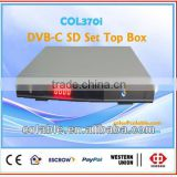 dvb-c set top box, cable tv decoder