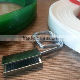 Manual packing embossed or smooth super strong PET material Strapping with logo printing