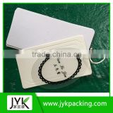 White paper hangtag good quality high-end hangtag for all kinds garments shoes bags textile items