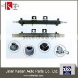 Utility trailer axle parts brake drum wheel hub axle beam