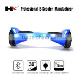 New chrome colored scooters bluetooth Samsung battery 2 wheel smart eletric skateboard