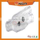Low Voltage Screw Y Type Transparent Straight Cast Resin Cable Joints