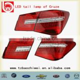 Popular OEM LED tail lamp for Cruze BW012,Automobile LED rear lights