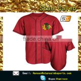 Discount Baseball Gear Coolmax bass baseball apparel Red Short Sleeve Quick Dry Baseball Shirts