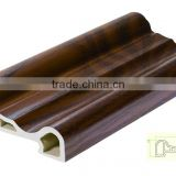 wpc veneered laminate decorative ceiling moulding, ceiling frame, wall top corner molding