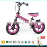 Popular design toddlers in house first walking balance bike