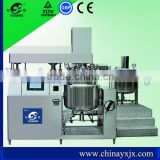 200L YX High viscous product vacuum emulsifier equipment for making wax lotion