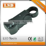 LS-312B Coaxial cable stripper RG58 RG59 RG6 cable stripping machine manual tool manufacturer