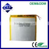 Good Quality Rechargeable 528278 lithium polymer battery pack 3.7V Li-polymer battery for tablet PC, PDA battery