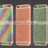 Glitter full body sticker for iPhone 6,for iPhone decal skin sticker