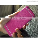 Colorful pu Leather Skin Sticker For iPhone6