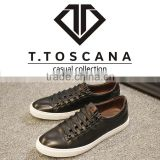 T.TOSCANA 2016 fashion white sneaker casual shoes for men have stock