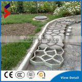 Hot Sale Wholesale Price DIY Pavement Mould Plastic Concrete Garden Pavement Mould