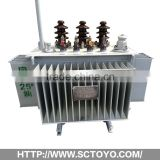 Factory export 200kva-1600kva Three-phase Duplex Winding on-load Voltage Regulation Power Transformer high quality