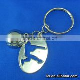 Baseball sports key chain wholesale, car key chain manufacturers