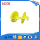 MDAT11 EM4305 LF Rfid ear tag animal tags for sheep / cattle / goat / cow / pig animal management