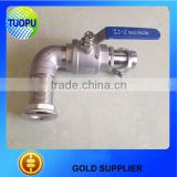 Top sell stainless steel 316 1 1/2 ball valve,AISI 316 1/2 ball valve