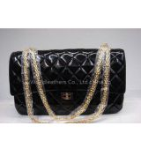 Inquiry about Buy Discount Replica Designer Chanel 1113 black patent leather Flap Handbag