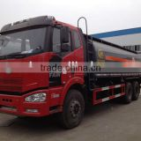 FAW chemical tank truck, FAW chemical liquid transporting truck, FAW Hydrochloric acid Or Sulfuric acid transporting truck