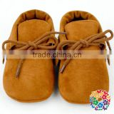 Leather Fringe Tassels Newborn Baby Moccasins Shoes Wholesale Girl Shoes Baby Shoes In Bulk