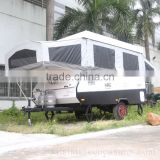 Off Road Travel Pop Up Kit Camper Trailer With Customized Service