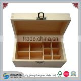 Factory supplier Aromatherapy Wooden Essential Oil Box Essential oil storage case wooden wholesale