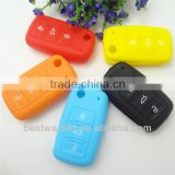 Top!!!For Volkswagen 3 buttons smart remote key,car key key case