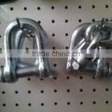 Factory Stainless Steel Or Galvanized D Type Shackle