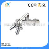 Brass basin tap for europe market